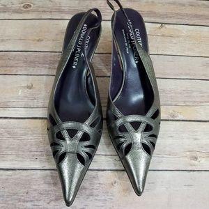 Donald J Pliner 8 Romy Slingback Pointed Heels